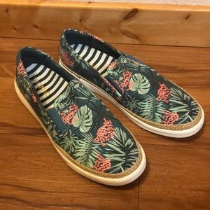 Vionic Floral Slip-On Shoes